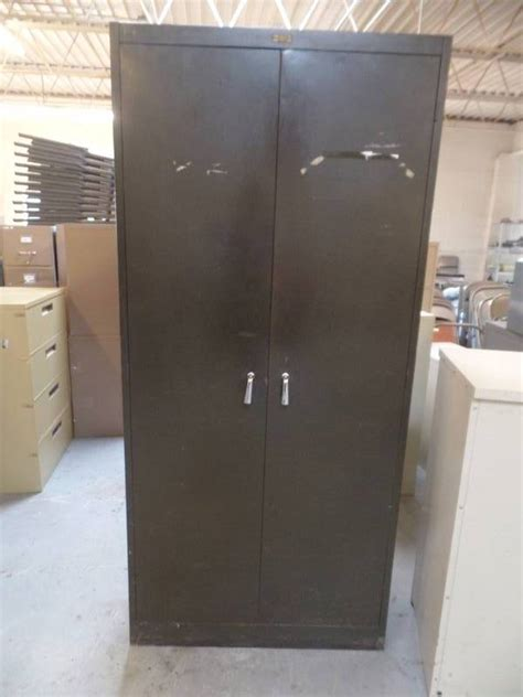 4 Ft Wide Storage Cabinet by Metal Storage Cabinet Abi 252 Commercial Office