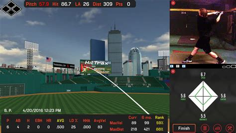baseball swing analyzer unification of swingtracker and hittrax to improve batting
