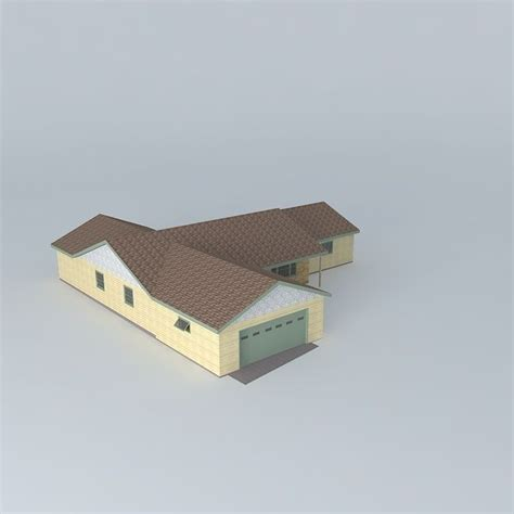 tract house tract house free 3d model max obj 3ds fbx stl dae cgtrader com