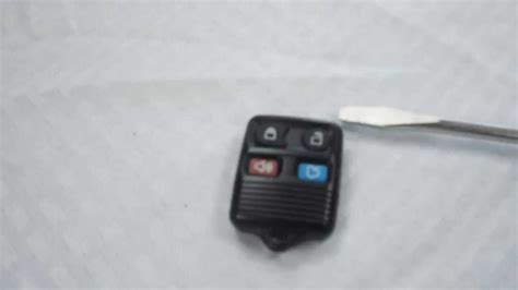 replace ford key how to replace ford explorer key fob battery 1998 2012