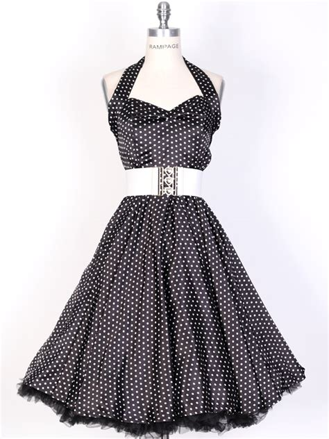 50s swing dress uk 50s smallwhitedot black polka dot swing satin dress uk