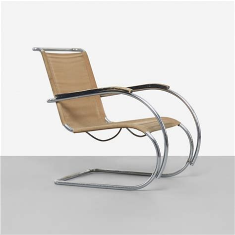 Mies Der Rohe Lounge Chair by Mr40 Lounge Chair By Ludwig Mies Der Rohe On Artnet