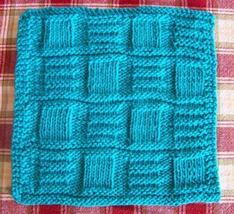 bamboo knitting patterns knit bamboo basketweave dishcloth free pattern