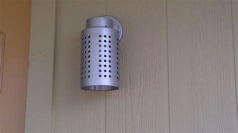 ikea utensil holder utensil holder becomes exterior light ikea hackers