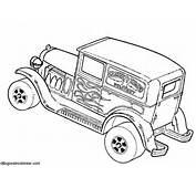Dibujos Sin Colorear De Hot Wheels Para