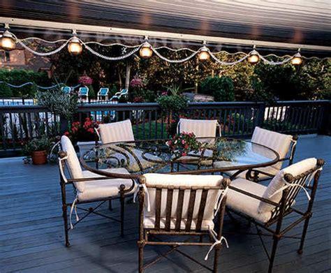 schöne lichterketten lichterkette balkon idee