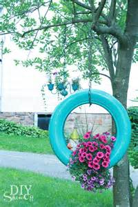 2 diy tire flower planter projects pakky105
