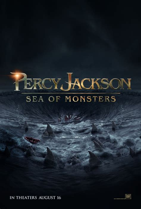 Poster Novel The And The Sea 40x60cm why you should go see percy jackson sea of monsters