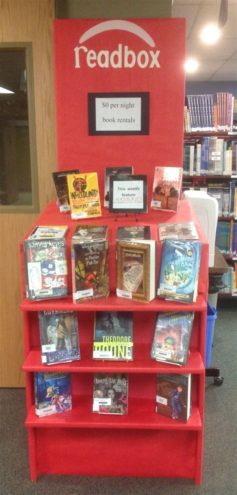 book display ideas library ideas readbox book display elementary school