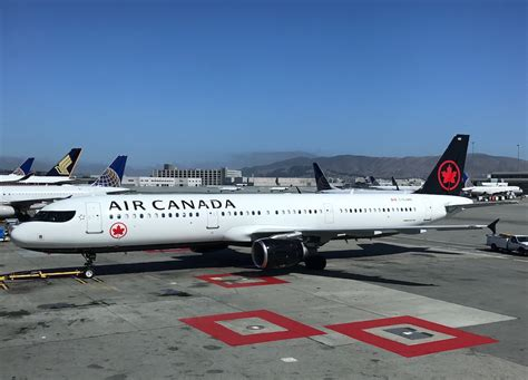 Air Canada Gift Card - ouch an air canada a320 had an incident at sfo again one mile at a time