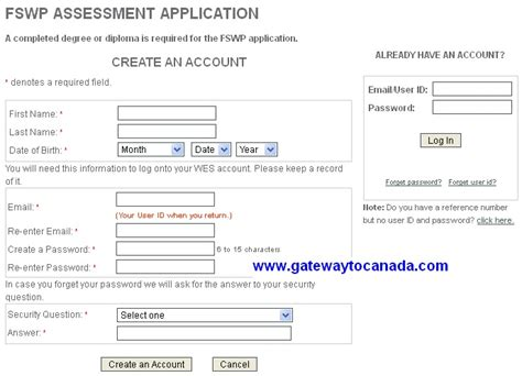 Canada Post Address Search Name Wes Education Credentail Assessment Application Process