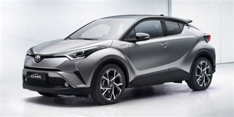 Toyota C HR ? production HR V rival officially unveiled