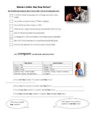 comparing biography and autobiography worksheet english worksheets tony parker 180 s biography let 180 s