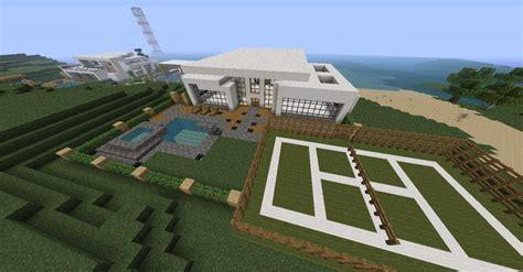 Big Barn World Sign In Minecraft Modern House Minecraft Project