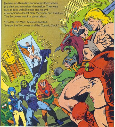 he books masters of the universe golden books