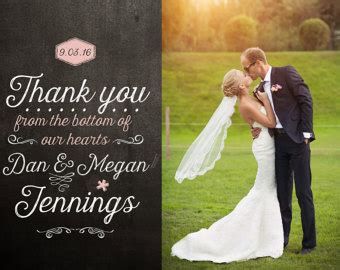 when should you send thank cards for wedding gifts wedding thank you cards etsy