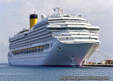 ship definition cruise ship photo picture definition at photo dictionary