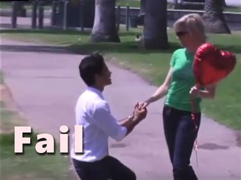 TOP 10 Marriage Proposal FAIL compilation [2016]   YouTube