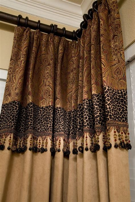 animal print drapes 17 best ideas about corner curtains on pinterest corner