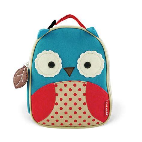 Tas Motor Registry skip hop zoo owl lunch bag