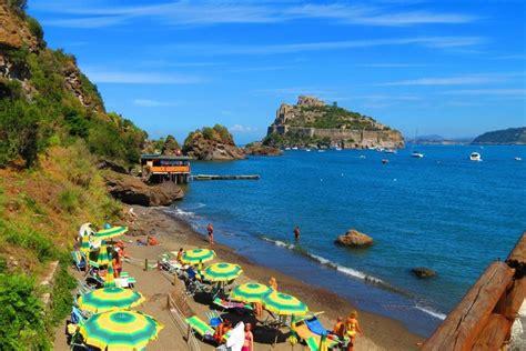 spiagge ischia porto spiaggia di cartaromana nuova imperatore travel world