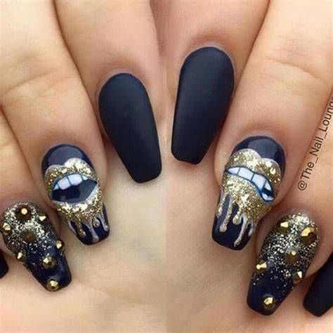 Nail Desings by 40 Pictures Of Acrylic Nail Designs
