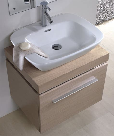 Countertop Shelf Unit by Twyford Vello 600mm Countertop Basin With Shelf And Vanity