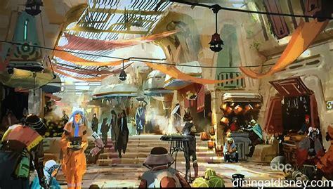 design art market a look at star wars land dining concept art