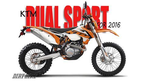 Ktm Dual Sport Dirt Bike Magazine Ktm S 2016 Dual Sport Models