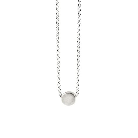 Circle Necklace circle necklace sterling silver dogeared