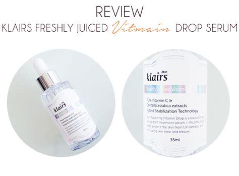 Serum Vitamin C Klairs vitamin c klairs freshly juice vitamin drop serum review