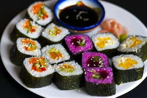 Sushi Kitchen Vegetarian Japanese Food Vegan Sushi Vegan Vegetarian Recipes