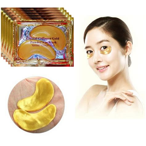 Gold Collagen Eye Mask 40 pcs 24k gold collagen eye mask circle eye