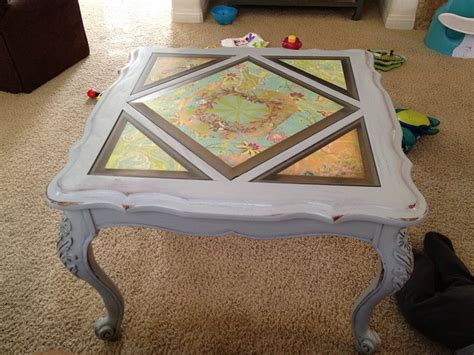Decoupage Glass Table Top - 172 best images about decoupage furniture on