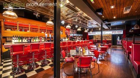 dinner restaurant refurbishment of restaurant for an american diner rosies