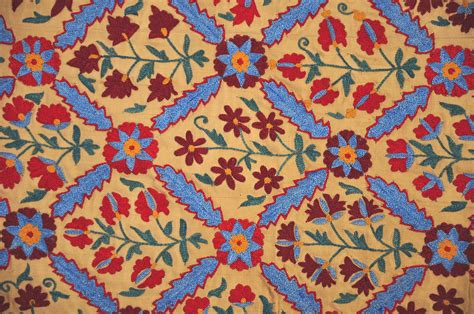 uzbek suzani embroidery uzbek suzani embroidery art textile alesouk grand bazaar
