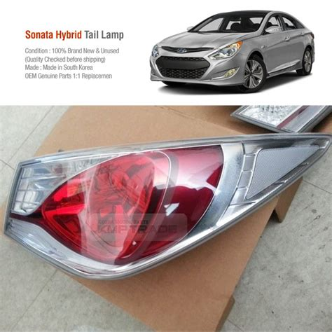 2010 hyundai sonata 3rd brake light replacement oem led rear tail light l assembly rh 2ea for hyundai