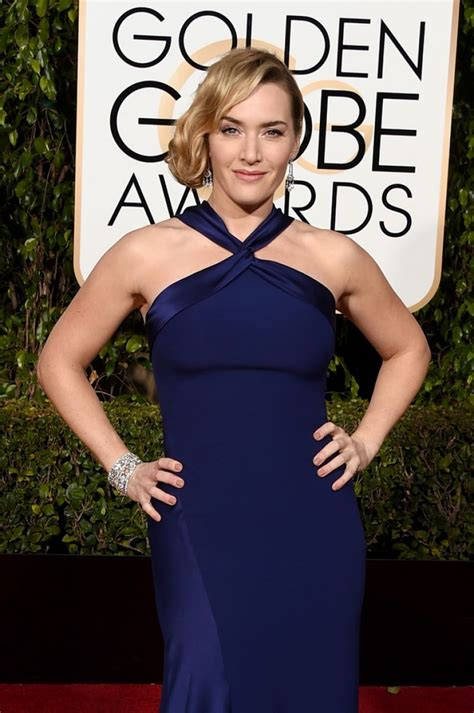 Kate Winslet At The Golden Globes by Kate Winslet 2016 Golden Globe Awards In Beverly