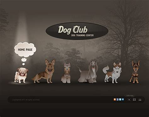 websites to buy puppies club html5 template best website templates