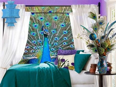 peacock blue home decor blue and green peacock home decor