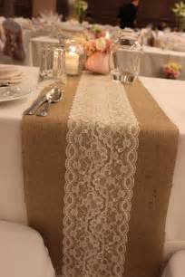 Ideas lace tables runners burlap amp lace christmas tables wedding