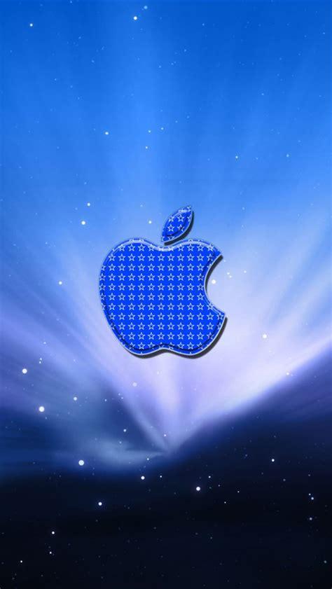 imagenes para fondo de pantalla apple azul estrellas apple iphone fondos de pantalla 640x1136