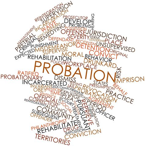 probation colors probation testing