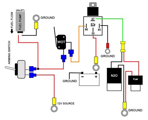 nos wiring diagram wiring diagram with description