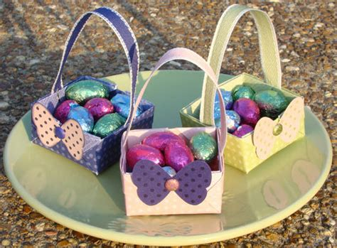 Easter Origami Basket - top 10 crafts you should be with your for