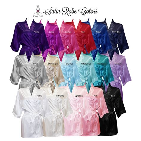 Bridal Robes by Personalized Bridal Robes Satin Bridal Robe Personalized