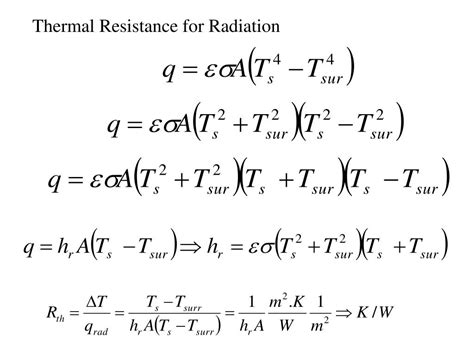 define thermal resistance ppt real heat transfer problems conjugate heat