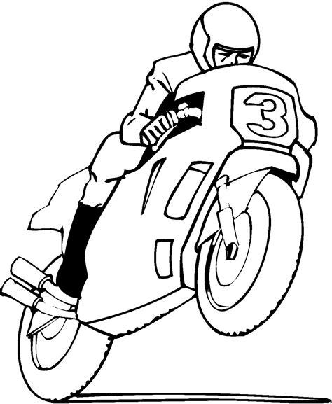 Motorrad Comics Bilder Kostenlos by Motorradfahrer Ausmalbild Malvorlage Comics