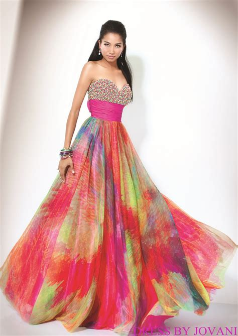 rainbow colored dresses beautiful of rainbow wedding dress masquerade