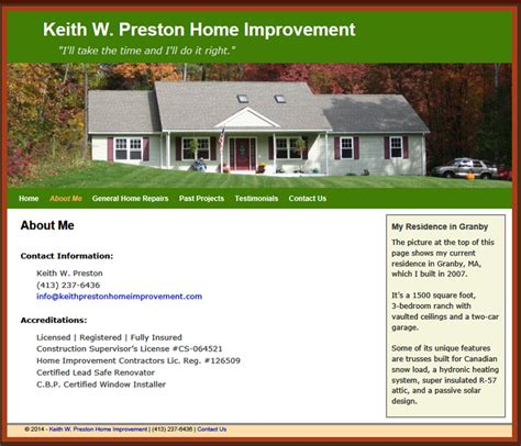 keith home improvement pioneer